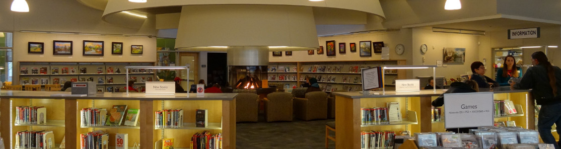 Inside Tualatin Library